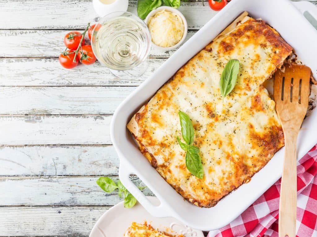 Lasagnes vegan aux légumes faites maison
