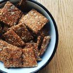 Recette de crackers aux graines de sésame ou autres graines
