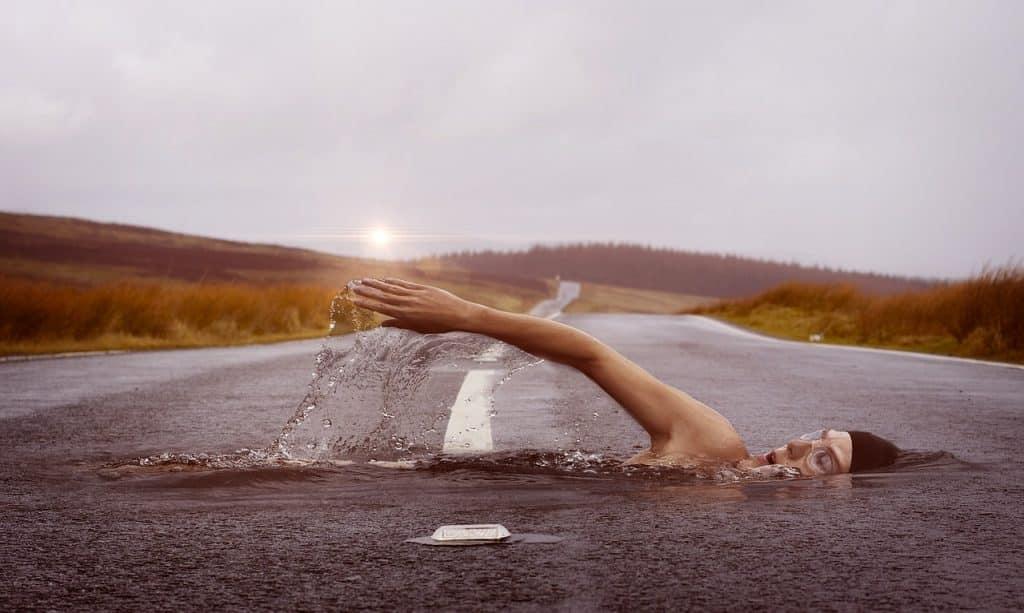 Que signifie rêve eau ?